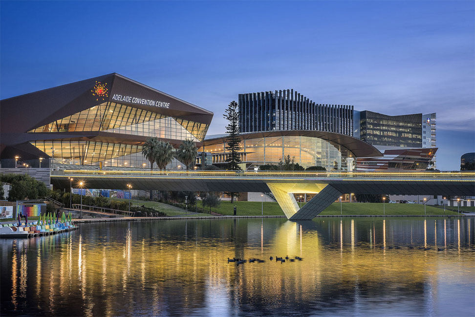 Riedel modernisiert Kongresszentrum in Australien