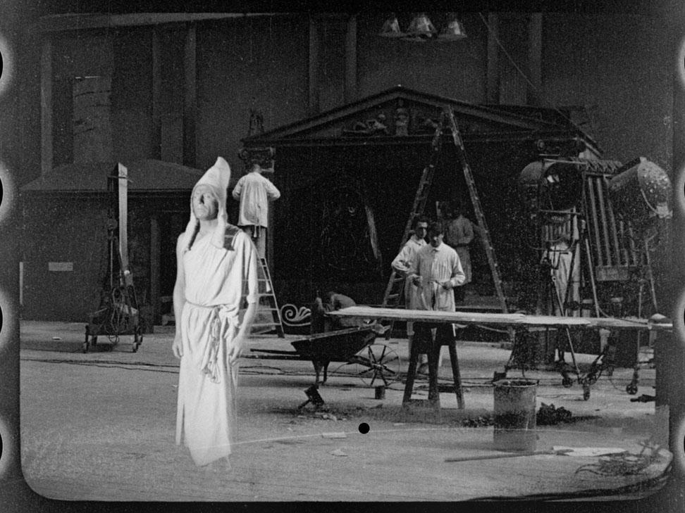 Überblendtrick-Test von Guido Seeber ca. 1912, Filmhistorie