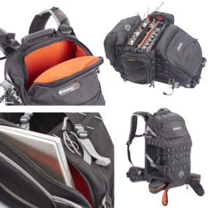Der Rucksack soll Tragekomfort mit Flexibilität und Sicherheit für die Ausrüstung kombinieren.