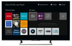 Blu-ray-Player UBP-X1100ES, Menü