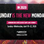 NAB2019: Neue Terminplanung für NAB2020