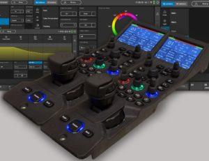 GV Creative Grading besteht aus einem neuen Bedienfeld und einer zugehörigen Touchscreen-Anwendung.