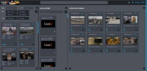LiveU Matrix, NAB2019, Screenshot
