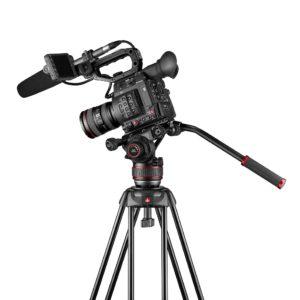 2 neue Videoköpfe und Stative von Manfrotto