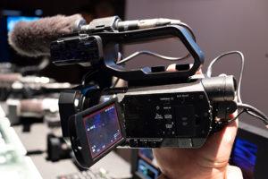 Sony, Camcorder, HXR-MC88, NAB2019, © Nonkonform