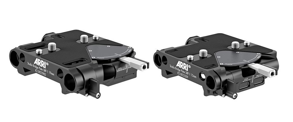 Arri stellt neue Bottom Dovetail Plates und die Studio Bridge Plate SBP-1 vor