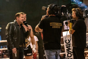 Kickboxen, Steko's Fight Night, NEP, Arri, 7Sports, © Ludwig Merk