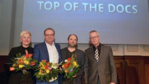 Dokumentarfilm-Wettbewerb, Preisverleihung Top of the Docs, © rbb / Thomas Ernst