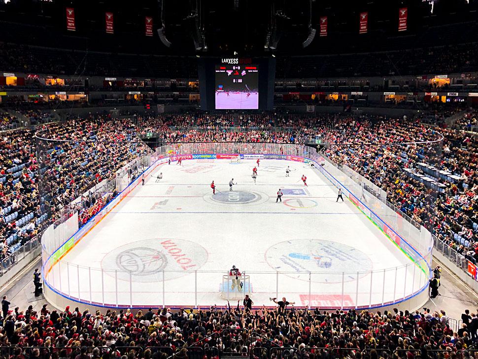 Parkhaus Lanxess Arena