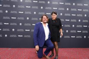 Florian Borchmeyer, Melina Leon, Award Ceremony, 37. Filmfest München, © Filmfest München/Kurt Krieger