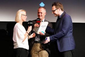 Claudia Oettrich, Stefan Maier, Bernhard Blöchl, Award Ceremony, 37. Filmfest München, © Filmfest München/Kurt Krieger