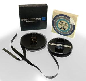 EIAJ-1, Open Reel, historische Videobänder, © Nonkonform