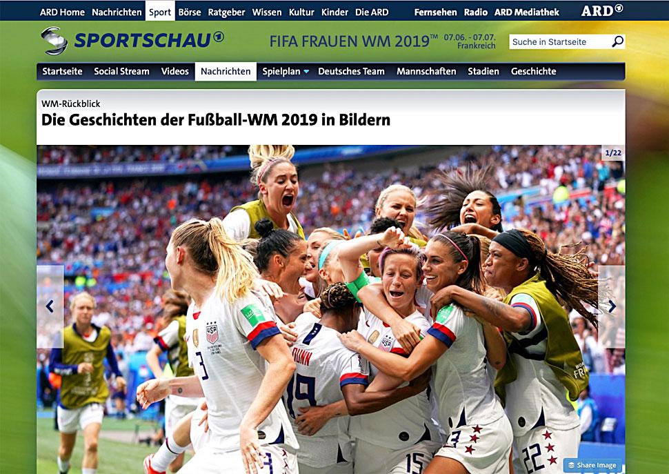 fifa frauenfußball wm 2019