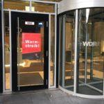 Wieder Warnstreik beim WDR