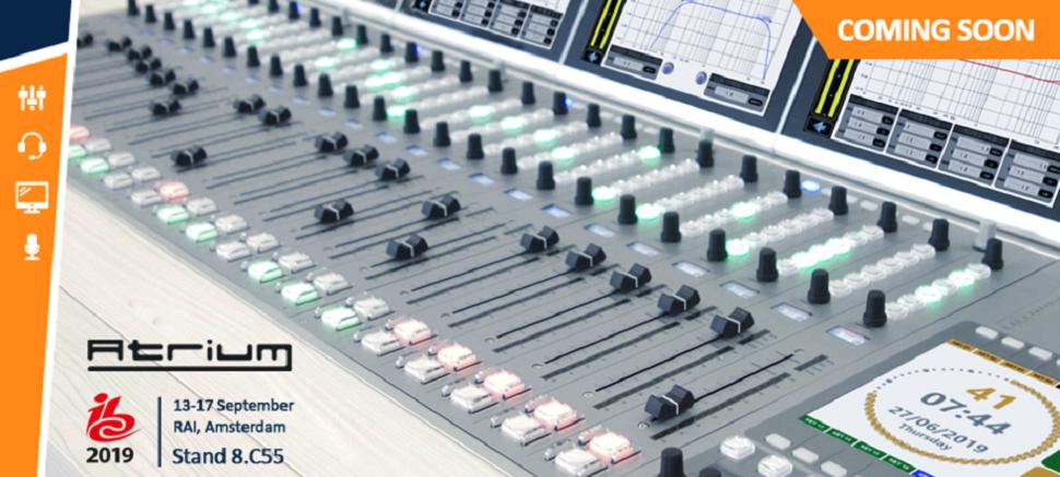 AEQ Atrium Atrium ist ein digitaler Audiomischer, der speziell für die On-Air-Audioproduktion