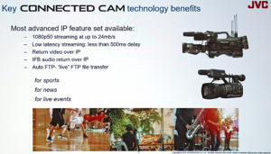 JVC, IBC2019, Connected Cams