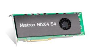 Matrox M264 S4-Karte für die Kodierung/Dekodierung/Dekodierung auf H.264-Basis