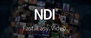 NDI, ehemals eine Marke von NewTek nun Vizrt Group, jetzt in Version 4