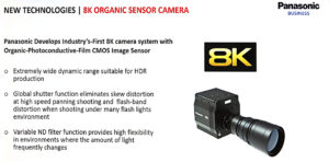 Panasonic, 8K, Kamera