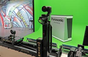 Panasonic, IBC2019, Stand, Robotik