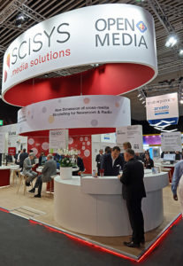 Scisys, IBC2019, Stand