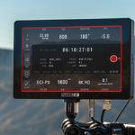 IBC2019: Red-Bedienung mit Monitor Cine 7 von Small HD