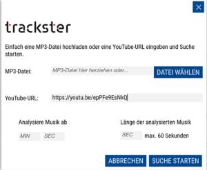 Trackster, Screen