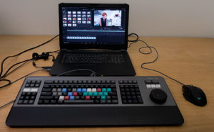 Editor Keyboard, Laptop-Setup