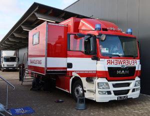 Broadcast Solutions, Feuerwehr
