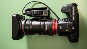 BM Pocket 6K, Canon CN-E 18-80, Zoomobjektiv, © Harrer