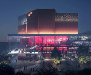 Gasteig, Simulation, 2026, © Henn / MIR