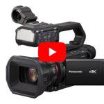 Panasonic zeigt drei neue 4K-Camcorder