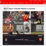 FC Arsenal: Live-Übertragung via AWS MediaConnect