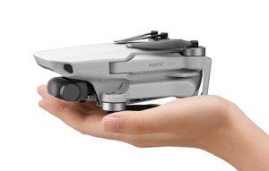 Mavic Mini, DJI, Drohne, Hand