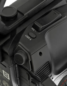Camcorder, Panasonic, AG-CX10, Detail, © Nonkonform