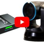 Newtek mit UHDPTZ Cam und Spark-Konvertern