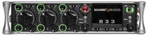 Recorder/Mischer, Sound Devices, 833