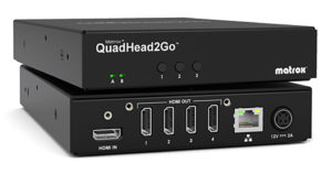 Matrox, QuadHead2Go, Multi-Monitor-Controller, Standalone