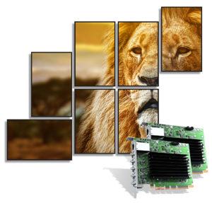 Matrox, Multi-Monitor-Controller, QuadHead2Go, Beispiel