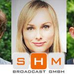 Neue Mitarbeiter bei SHM Broadcast