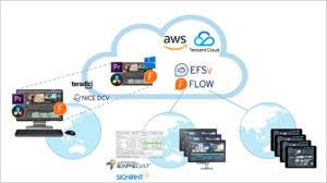Editshare, EFSv, Speicherlösungen