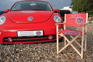 Filmfest München Popup, Auto, Stuhl, © Filmfest München
