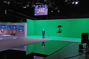 Studio, HRT, Spidercam, Greenscreen
