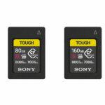 Sony: CFexpress-Speicherkarte