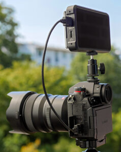 Kamera S1H, Recorder Ninja V, S1H ProRes Raw, © Sas Kaykha