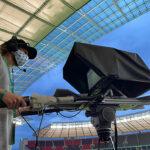 Blackcam Remote Head beim Pokalfinale