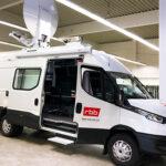 FLYING EYE: neues Sendefahrzeug für den RBB