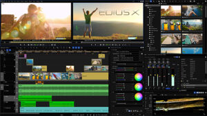 Edius X, Screenshot
