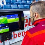 Schiedsrichter der SFL kommunizieren mit Riedels Bolero S