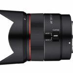 Samyang stellt neues 35mm AF Vollformat Objektiv für eMount vor